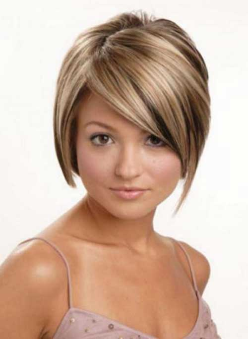 Short Haircuts with Highlights-6