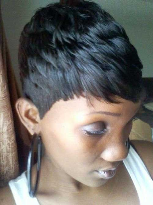 Short Hairstyles For Black Women 2015-6