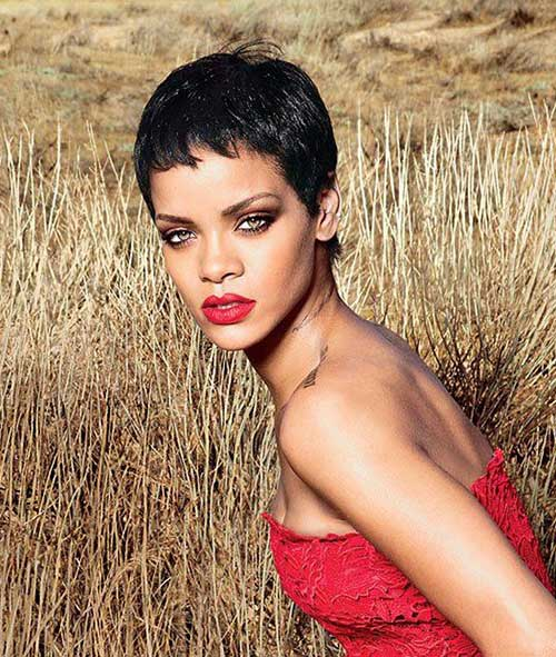 15 Best Rihanna Pixie Cuts