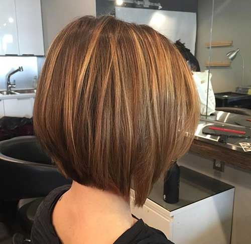 20 Short Haircuts With Highlights Short Hairstyles 2018