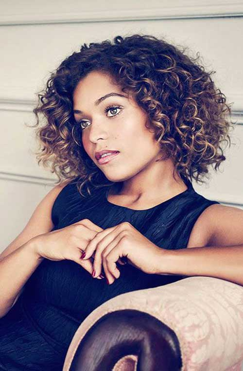 Short Natural Curly Hairstyles-7
