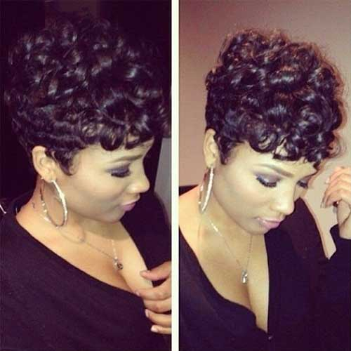 cute short haircuts for black girls 20 hairstyles for black hairstyles 2017 3471 | 8.Cute Short Hairstyles for Black Girls