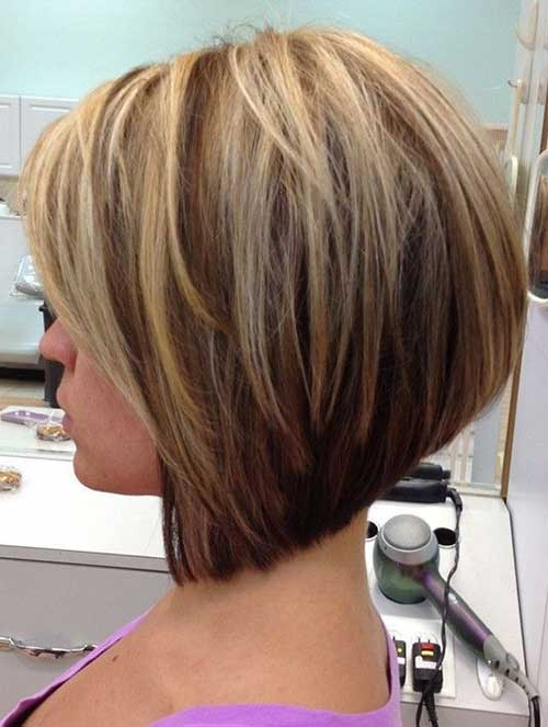 Short Haircuts with Highlights-8