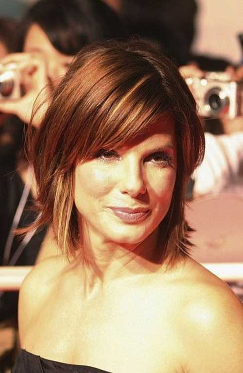 Short Haircuts with Bangs-9