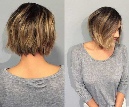 Short Haircuts with Highlights-9