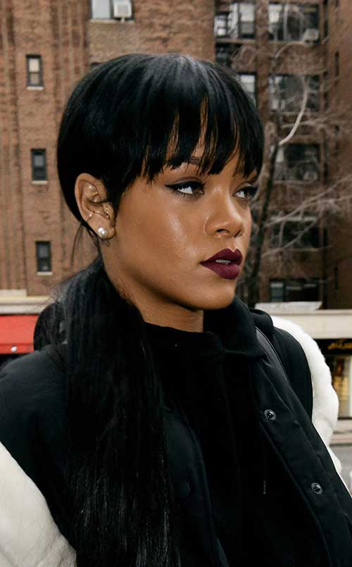 Rihanna Hairstyles rihanna transformation Best Rihanna Pixie Hair
