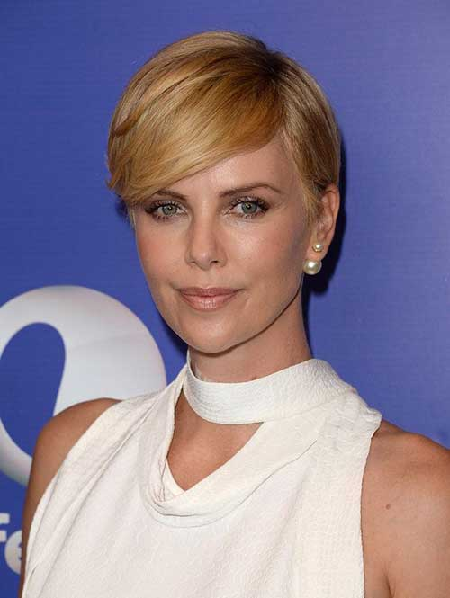 15 Charlize Theron Pixie Cuts | Short Hairstyles 2016