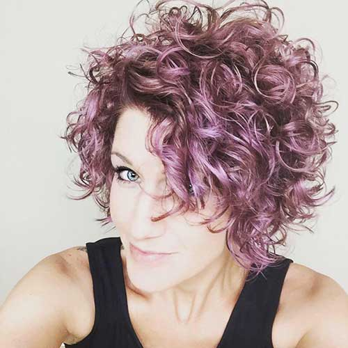 Cute Curls For Short Hair