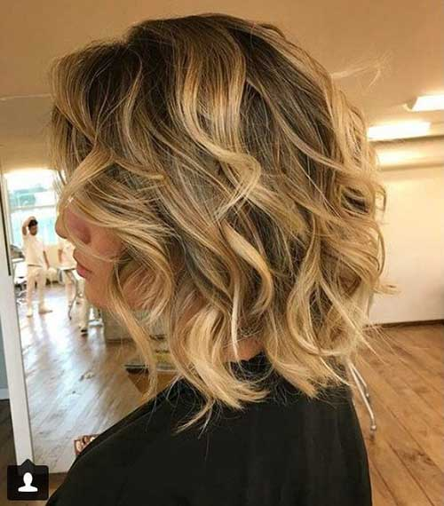 Cute Curly Short Haircuts