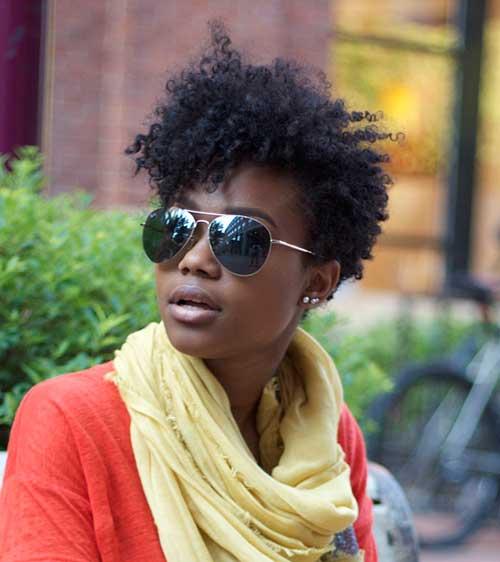 Pleasant 20 Cute Hairstyles For Black Girls Short Hairstyles 2016 2017 Short Hairstyles Gunalazisus