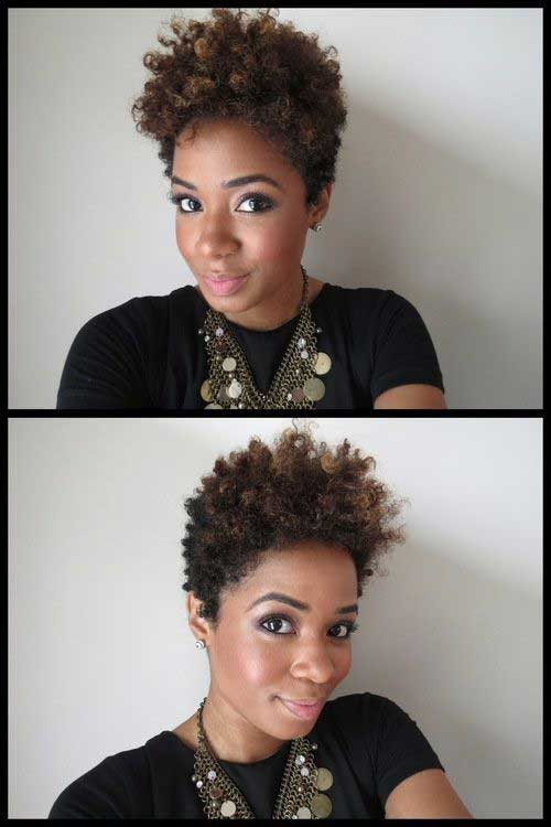 Outstanding 20 Cute Hairstyles For Black Girls Short Hairstyles 2016 2017 Short Hairstyles Gunalazisus