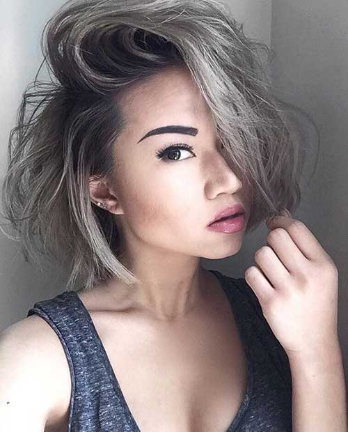 Cute Short Hairstyle 2014