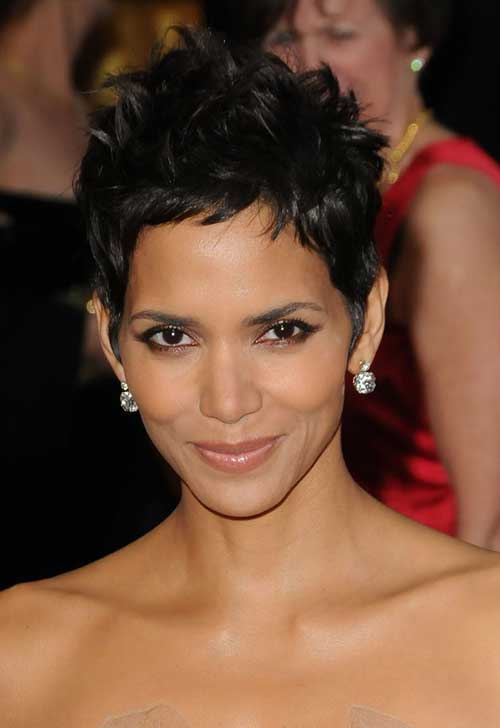 20 Best Halle Berry Pixie Cuts Short Hairstyles 2017