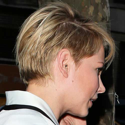 Michelle Williams Pixie Cut 2011