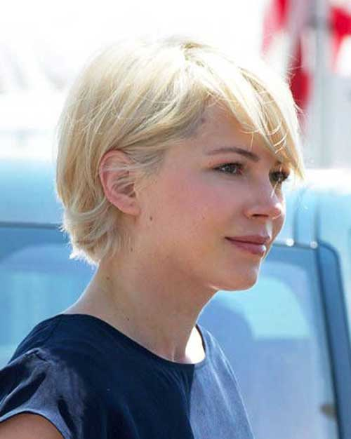 Michelle Williams Pixie Hair