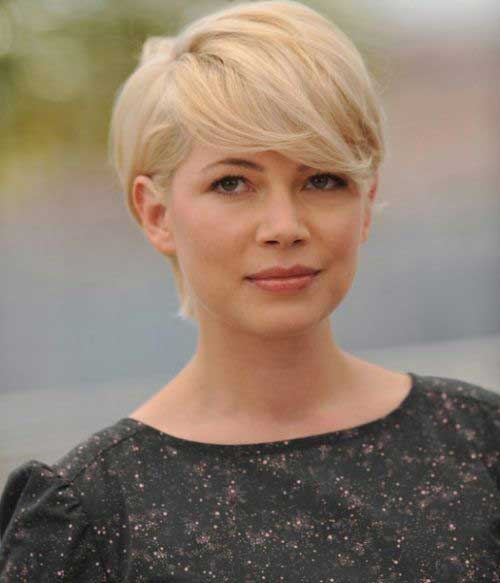 Michelle Williams Pixie Cut