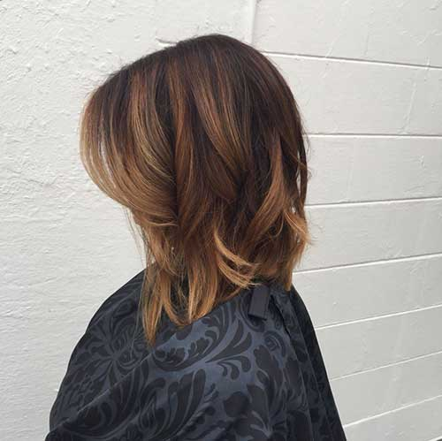Best Long Bob Ombre Hair Short Hairstyles