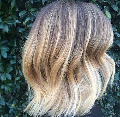 Ombre Hair Long Bob