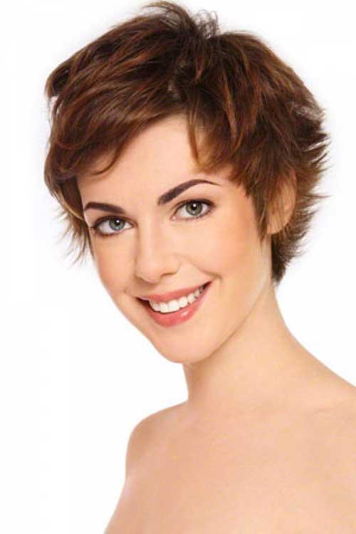 Pixie Cut Brown Hair