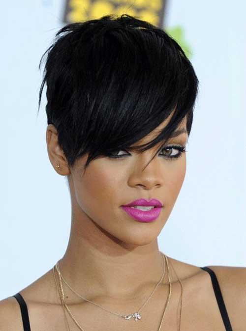 15 Best Rihanna Pixie Cuts Short Hairstyles 2018 2019