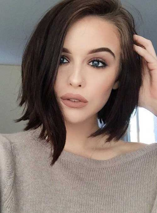 20 New Short Dark Haircuts