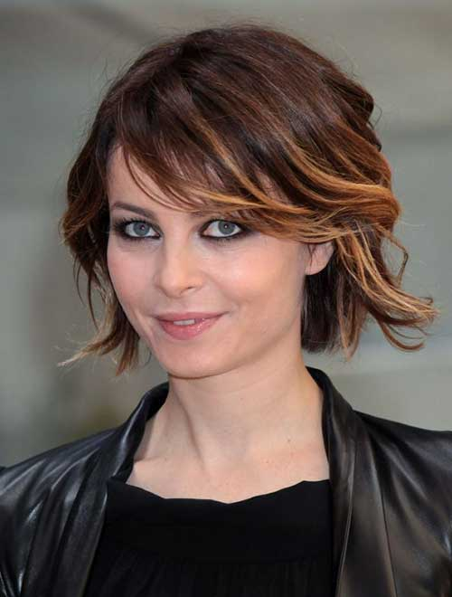Short Dark Haircut Styles