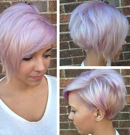 Short Hair Colour Trends 2016