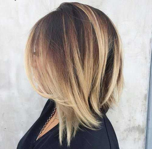 25 Color For Short Hair