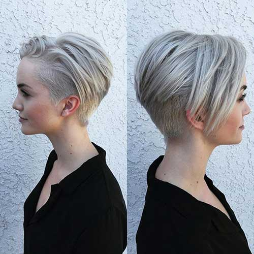 Short Hair Style For Women 2016