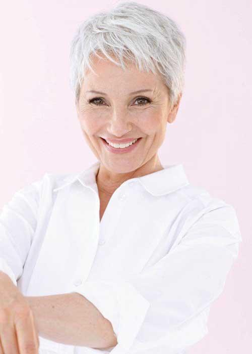 Short Ladies Haircuts Older Ladies
