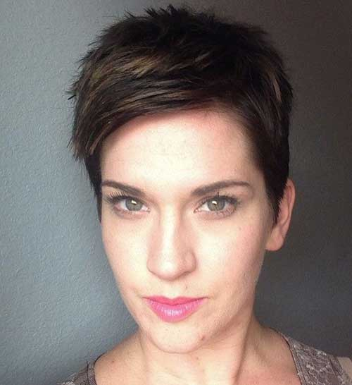 Short Spiky Pixie Cuts