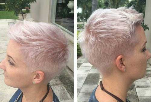 20 Super Short Hairstyles - crazyforus