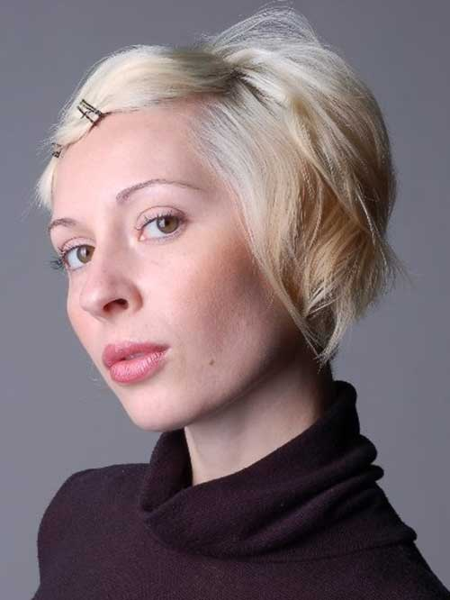 Bobby Pin Short Hairstyles-10
