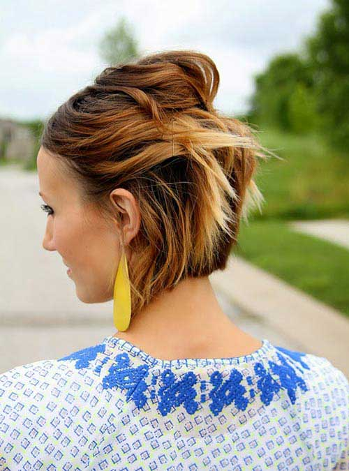 Bobby Pin Short Hairstyles-12