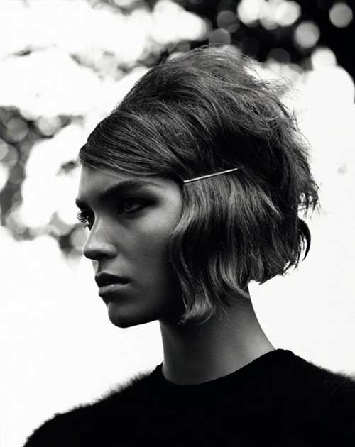Bobby Pin Short Hairstyles-14