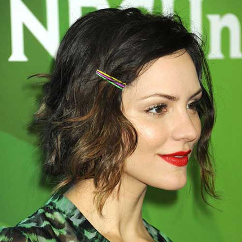 Bobby Pin Short Hairstyles-8