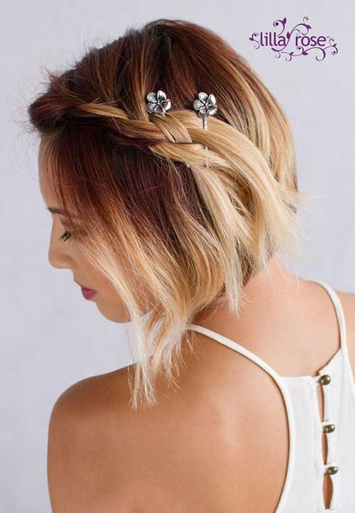 hair pin styles adorable hairstyles with bobby pins 9547