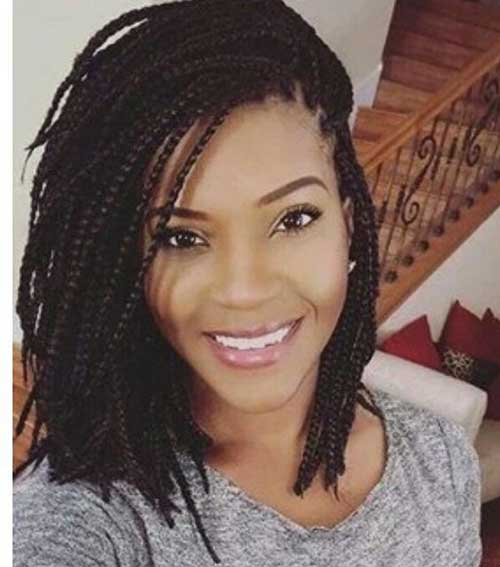 Amazing Hairdos for Black Ladies with Box Braids