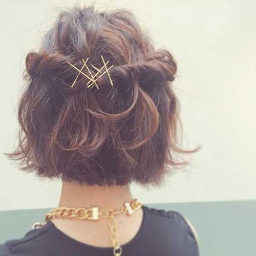 Short Hair Bobby Pins