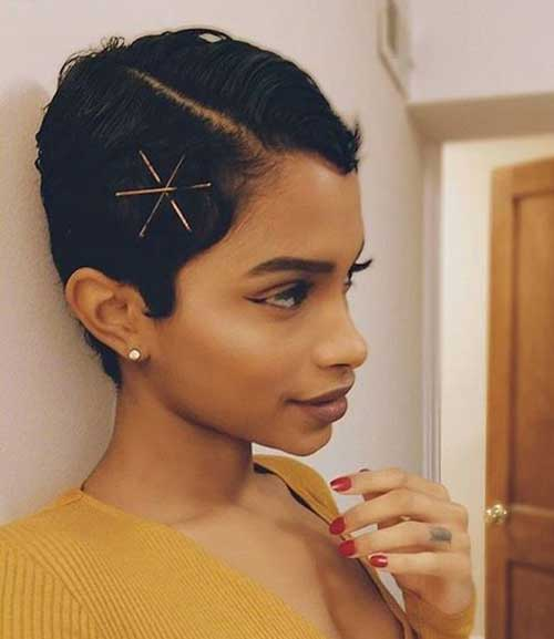 Short Hairstyles Bobby Pin Updos