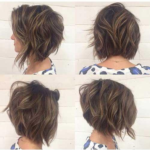 Wavy Short Hair Styles