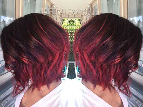 Ombre Short Hairstyles-11