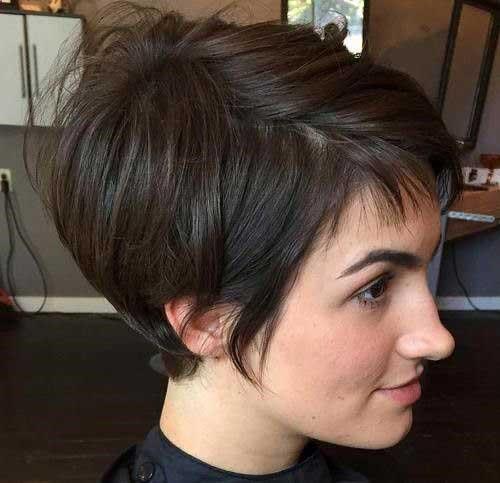Brown Short Hair Colors-12