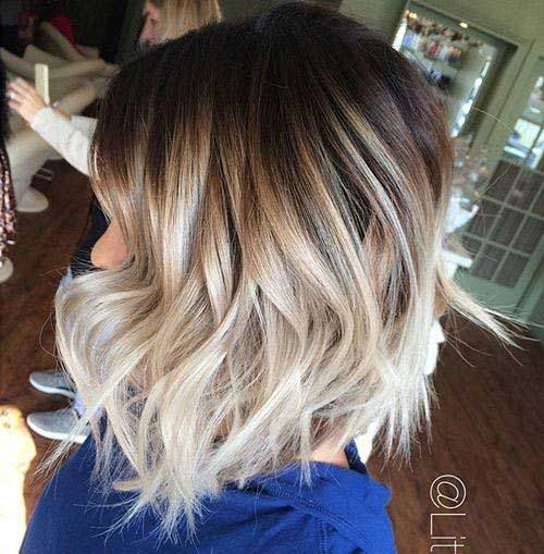 Ombre Short Hairstyles-14