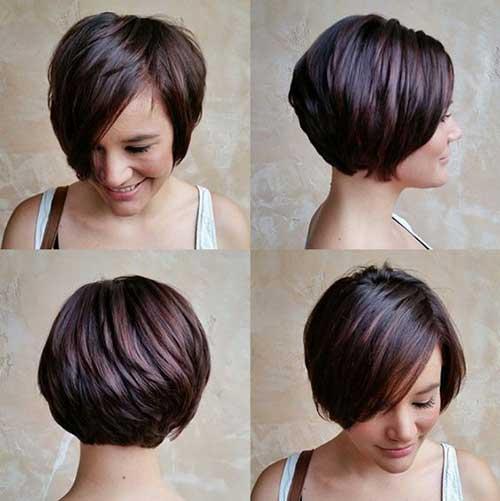 Brown Short Hair Colors-14