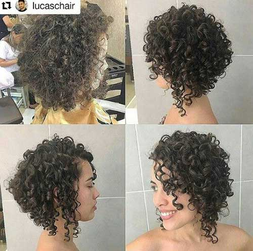Curly Short Hairstyles-16