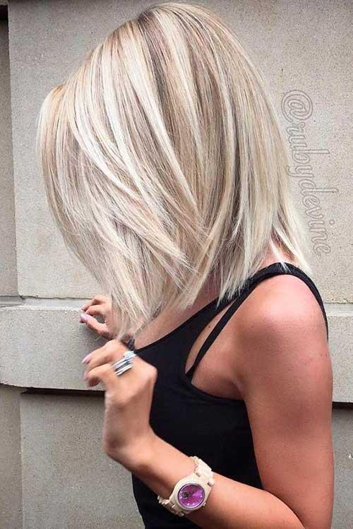 Short Blonde Hairstyles-17