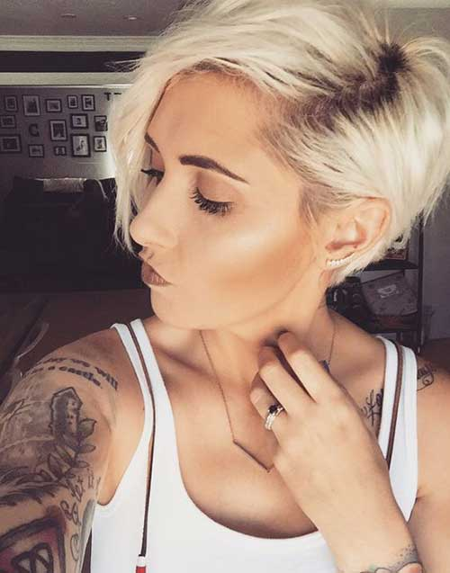 Short Blonde Hairstyles-20