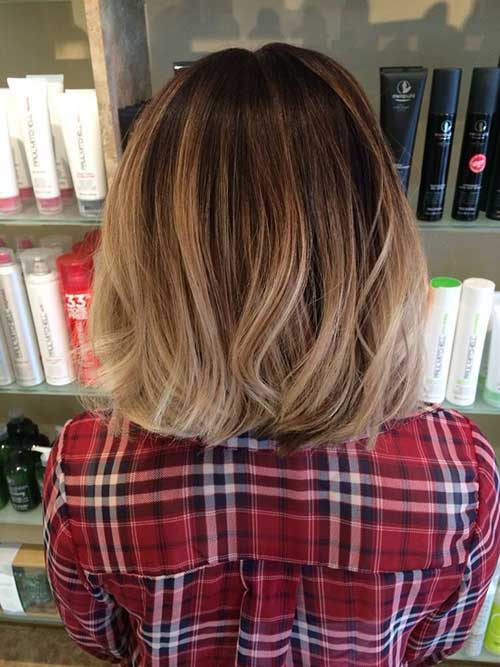 Ombre Short Hairstyles-8