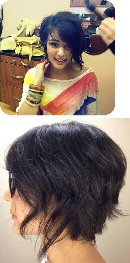 Brown Short Hair Colors-9